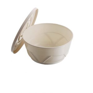 Injected Soup Bowl 300 ML With Lid